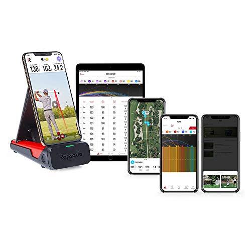 Rapsodo Mobiler Launch Monitor für Golf Indoor und Outdoor mit GPS Satellitenansicht und professioneller Niveaugenauigkeit, nur iPhone & iPad