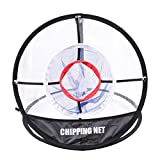 LIOOBO Pop Up Golf Chipping Net Übungsnetz für Outdoor Indoor Backyard Tragbare Golfscheibe Zubehör Trainingshilfen