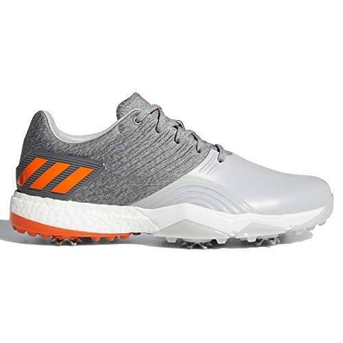 adidas Herren Adipower 4orged Golfschuhe, Grau (Gris/Blanco/Naranja Ac8263), 41 1/3 EU