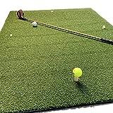 koenig-tom Profi Golf Abschlagmatte 125 x 100cm /19 Kg Drivingrange Übungsmatte + 4 Rubbertees/Rangetees