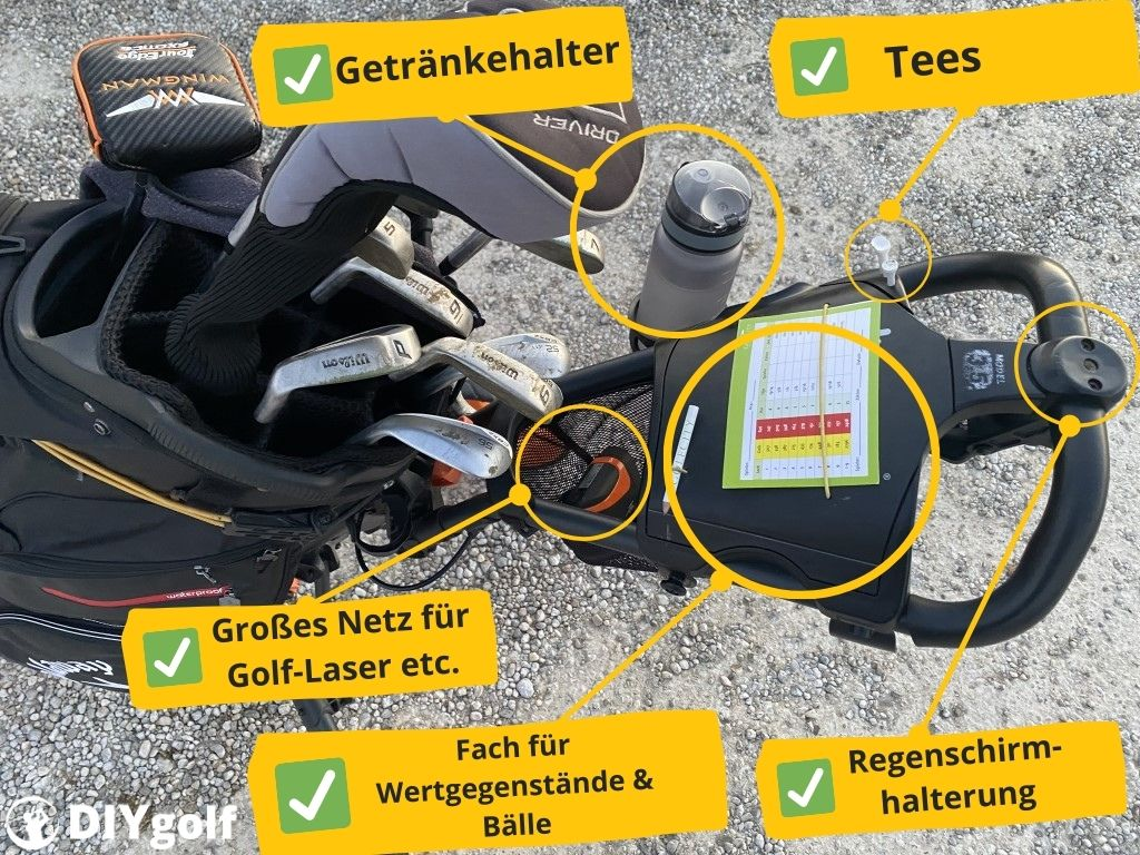 Push Trolley Clicgear 3.5 Features