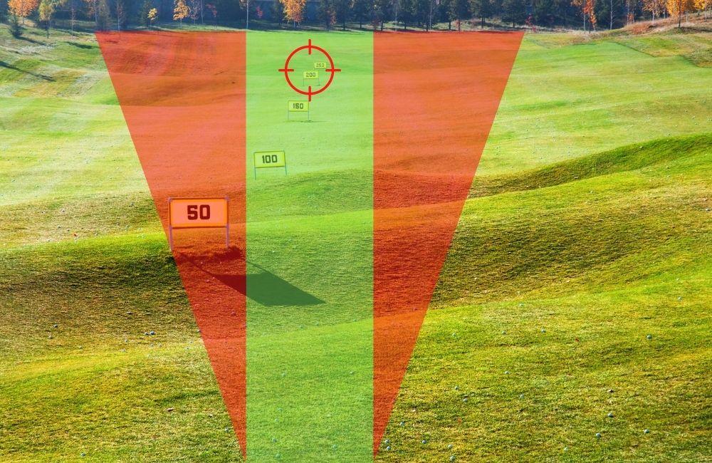 Driver Golf Skills Test auf der Driving Range