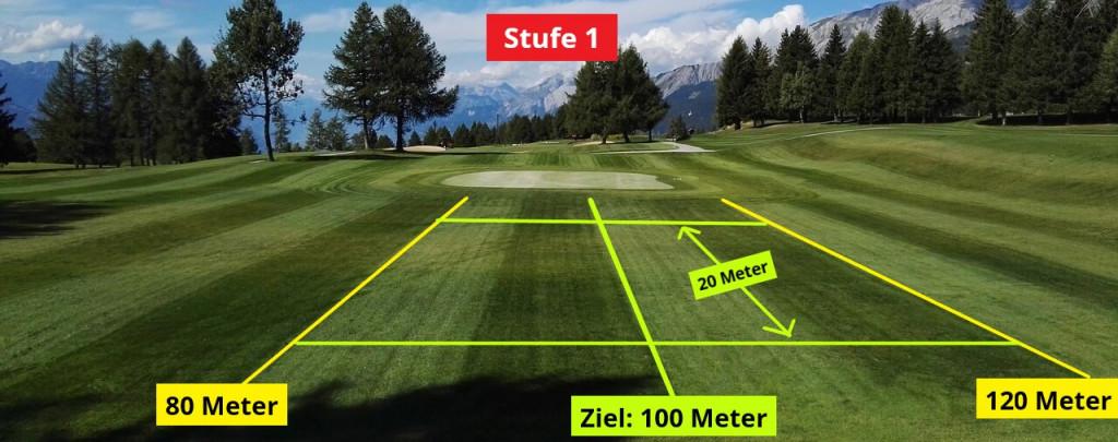 Golf Trainingsplan: Abschlag mit dem Eisen