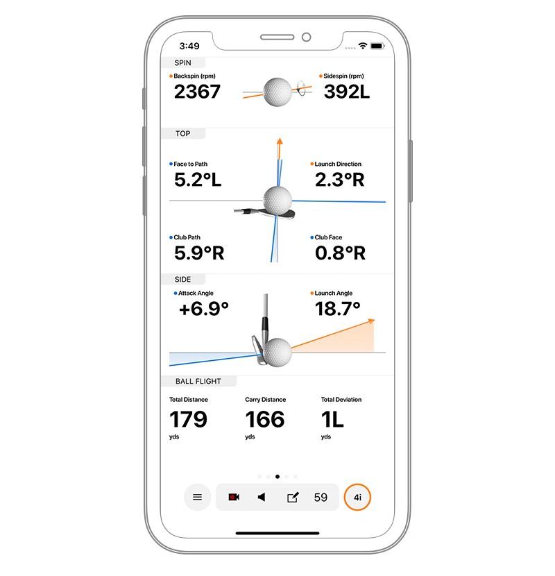 Garmin Approach R10 - Daten und Parameter