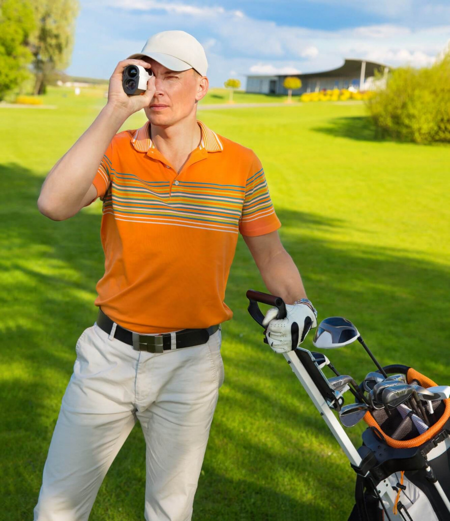 So verwendest du einen Golf-Laser
