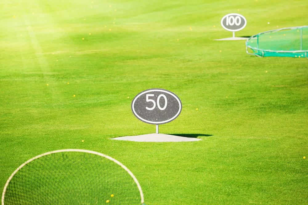 Pitching Distanzkontrolle auf der Driving Range