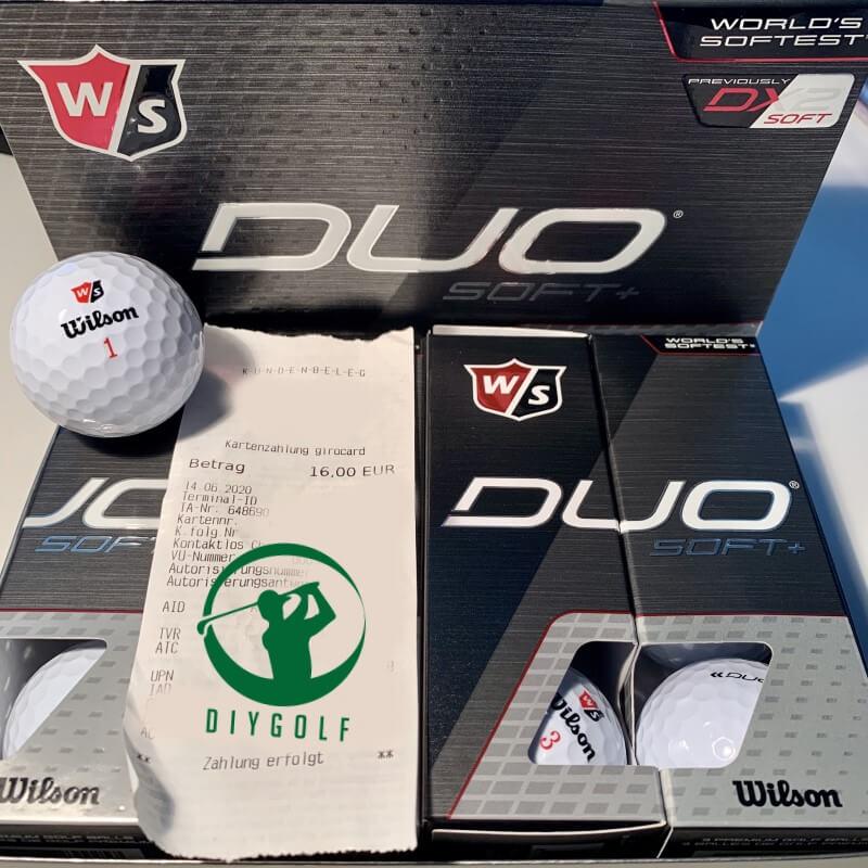 Wilson Duo Soft+ Golfbälle