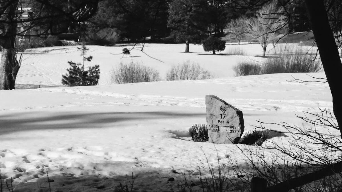Winter-Golftraining